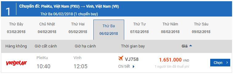vé-máy-bay-tết-Pleiku-Vinh