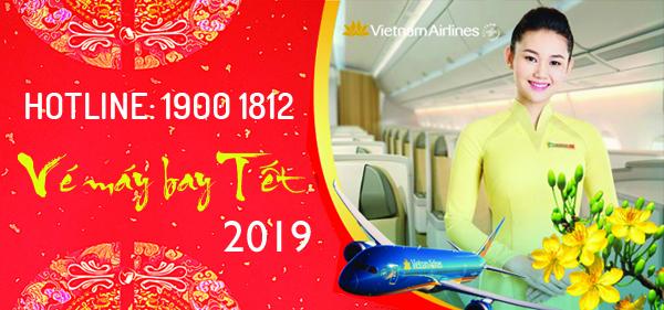 Vé máy bay Tết 2019 của Vietnam Airlines
